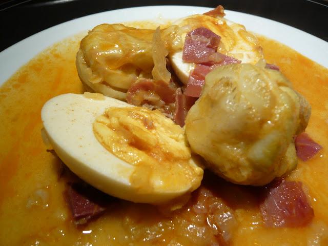 Guiso De Huevos Con Alcachofas