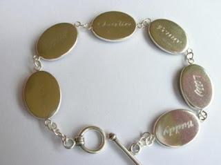 Personalised pet hair bracelet