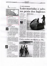 Lebon Régis em Recortes de Jornais