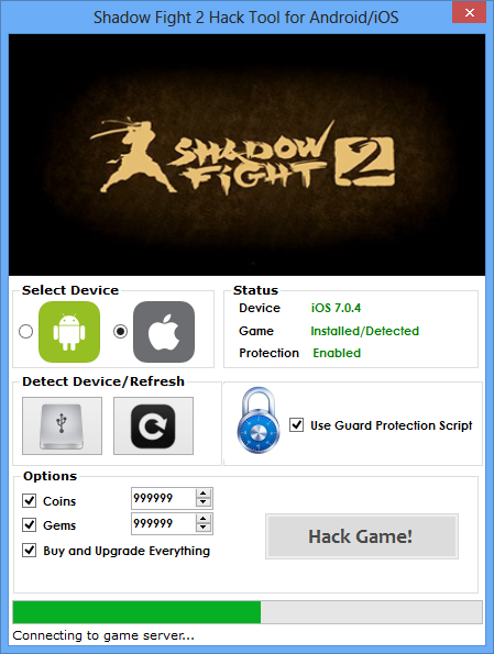shadow fight 1 for android