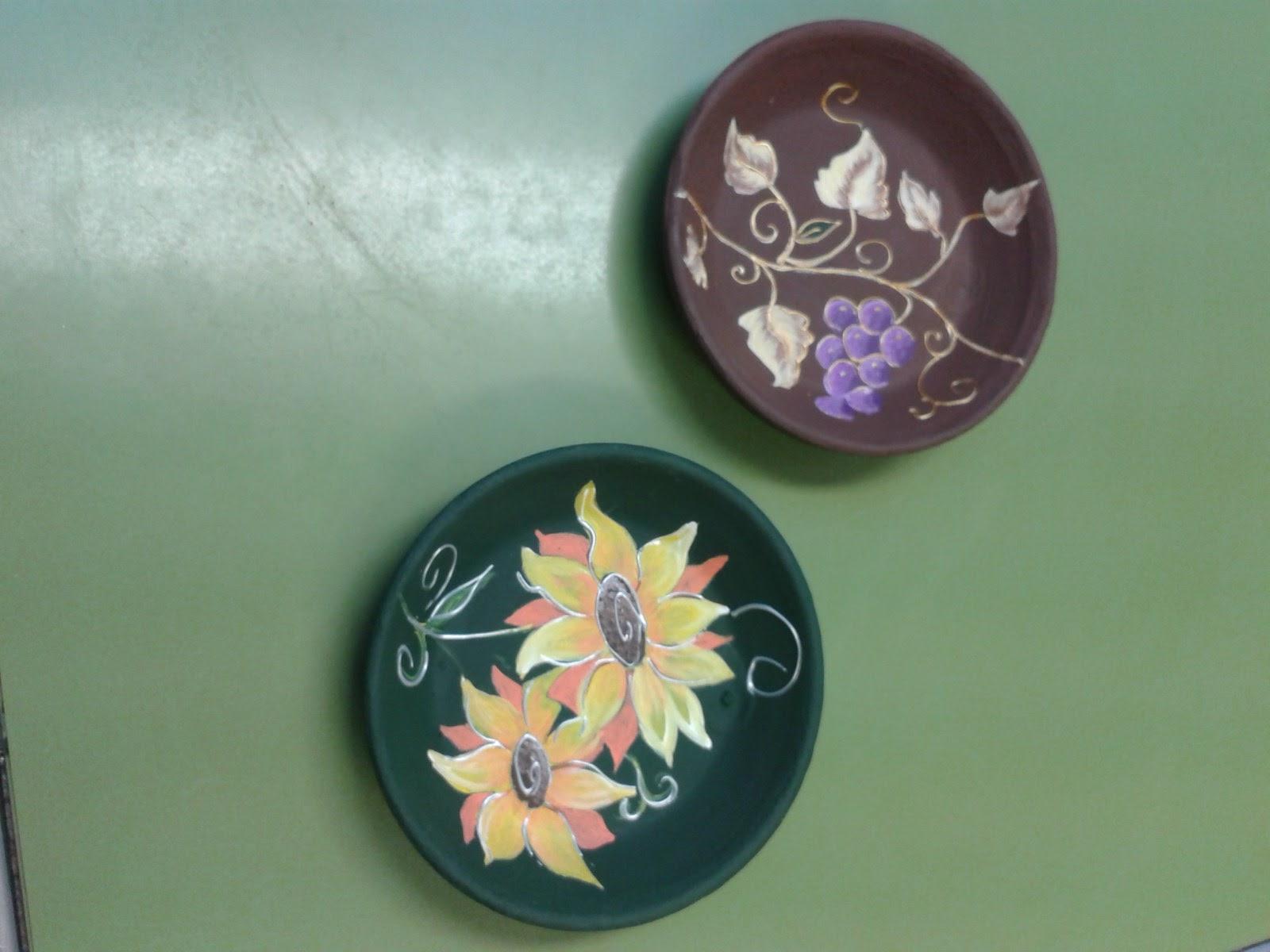 Blog de arte y decoraci n de miriam platos de barro para - Tiestos de barro ...
