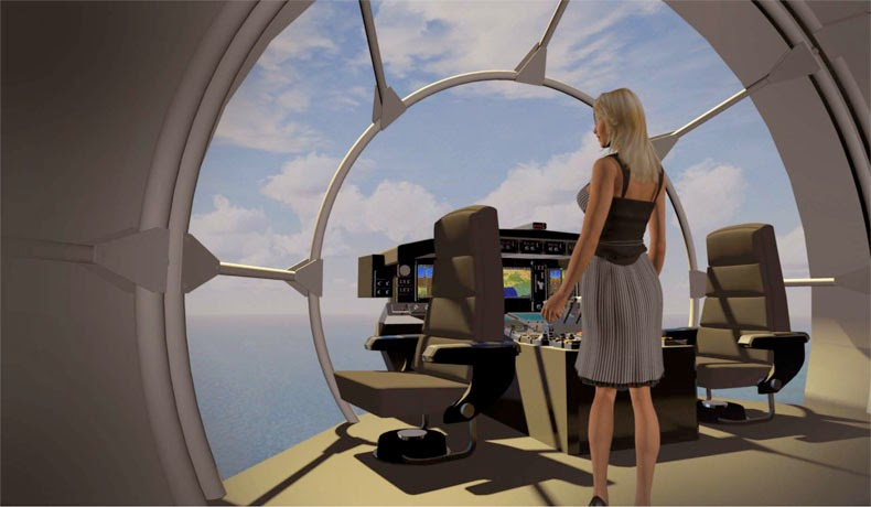 FLYING HOUSE Futuristic Airships And Flying Yachts Made Possible By Nanotech Composite Materials