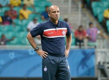 Sérgio Soares não é mais o técnico do Bahia