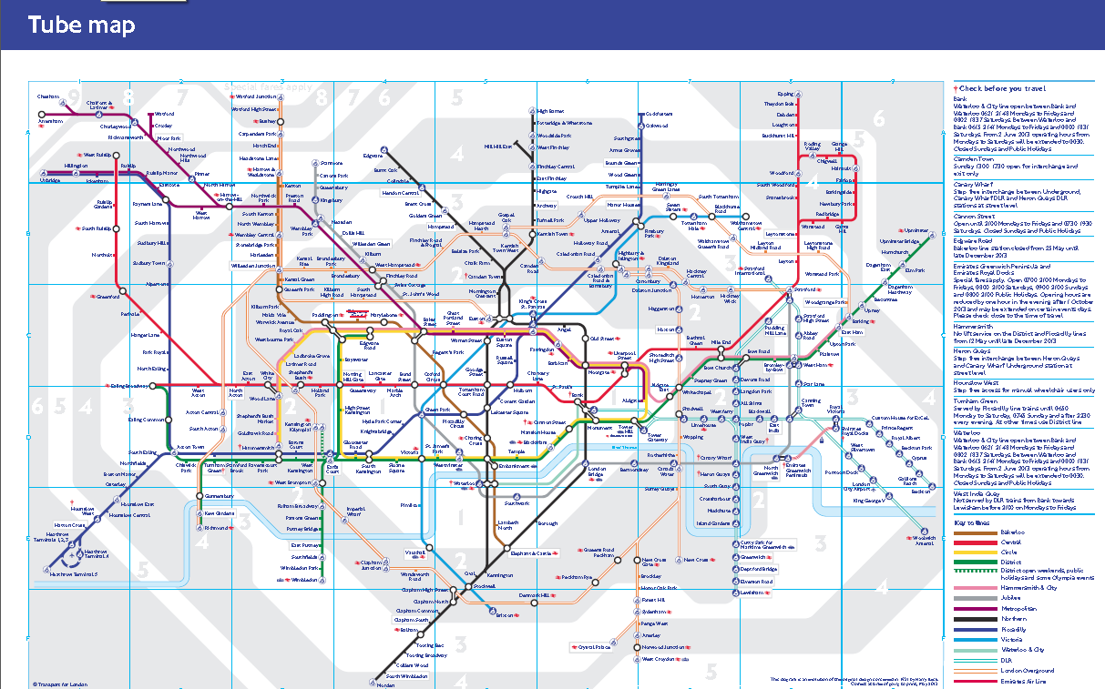 London Travel Zone Map Book Covers