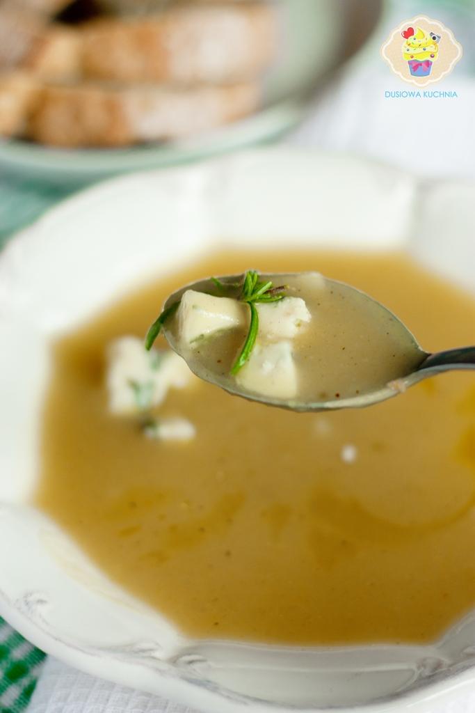 zupa krem z ziemniaków, krem ziemniaczany, zupa ziemniaczana, krem z ziemniaków z gorgonzolą