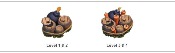 Jenis-Jenis Traps/Perangkap Pada Game Clash of Clans