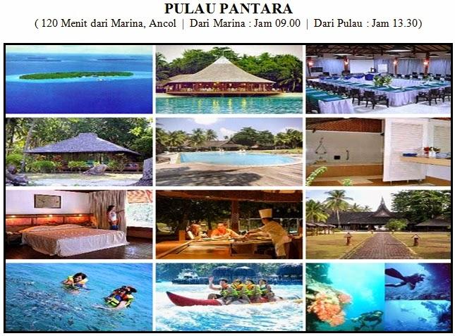 paket tour pulau pantara