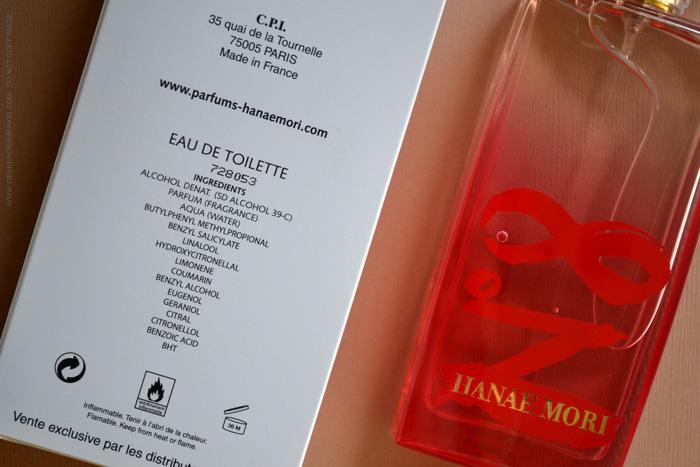 Hanae Mori Eau de Collection No. 8 Designer Parfums Perfumes for Women Fall fragrances blog review