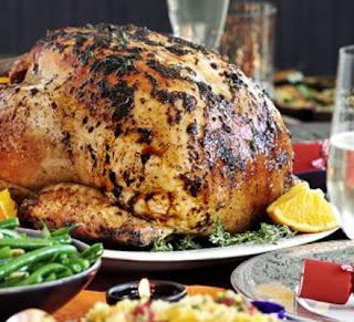 Middle Eastern Roast Turkey  Recipe