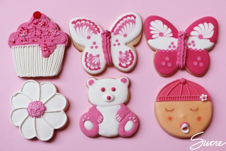 Galletas decoradas para bebes (nacimientos, bautizos, cumpleaños...). / Galetes decorades per bebes (naixements, batejos, aniversaris...)