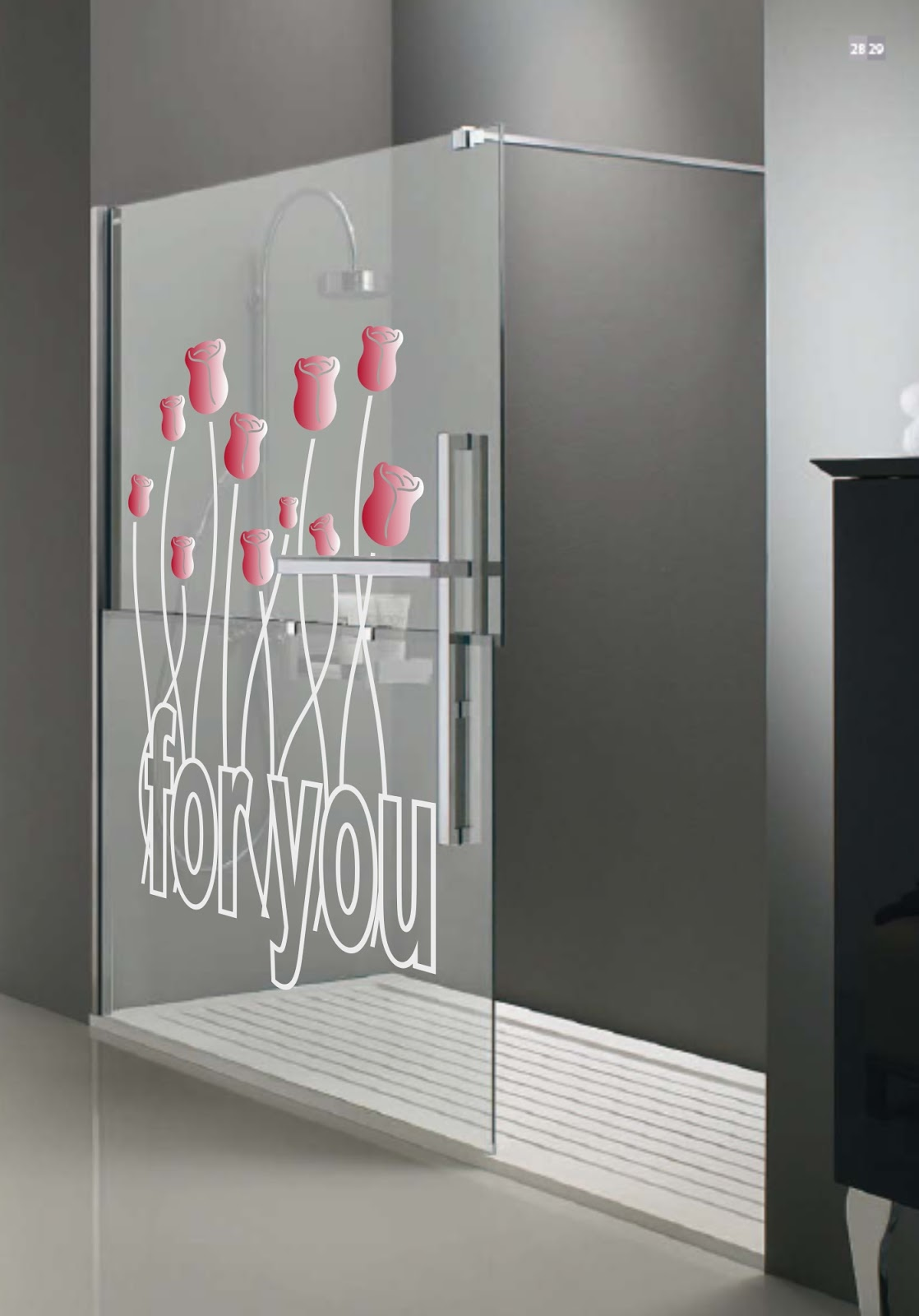 Dekotipo design vinilos para mamparas - Vinilo mampara ducha ...