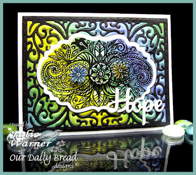 Our Daily Bread Designs Stamp sets: Boho Faith, Our Daily Bread Designs Custom Dies: Faith, Hope & Love, Vintage Flourish Pattern, Vintage Labels