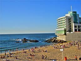 La Playa Caleta Abarca en Viña del Mar