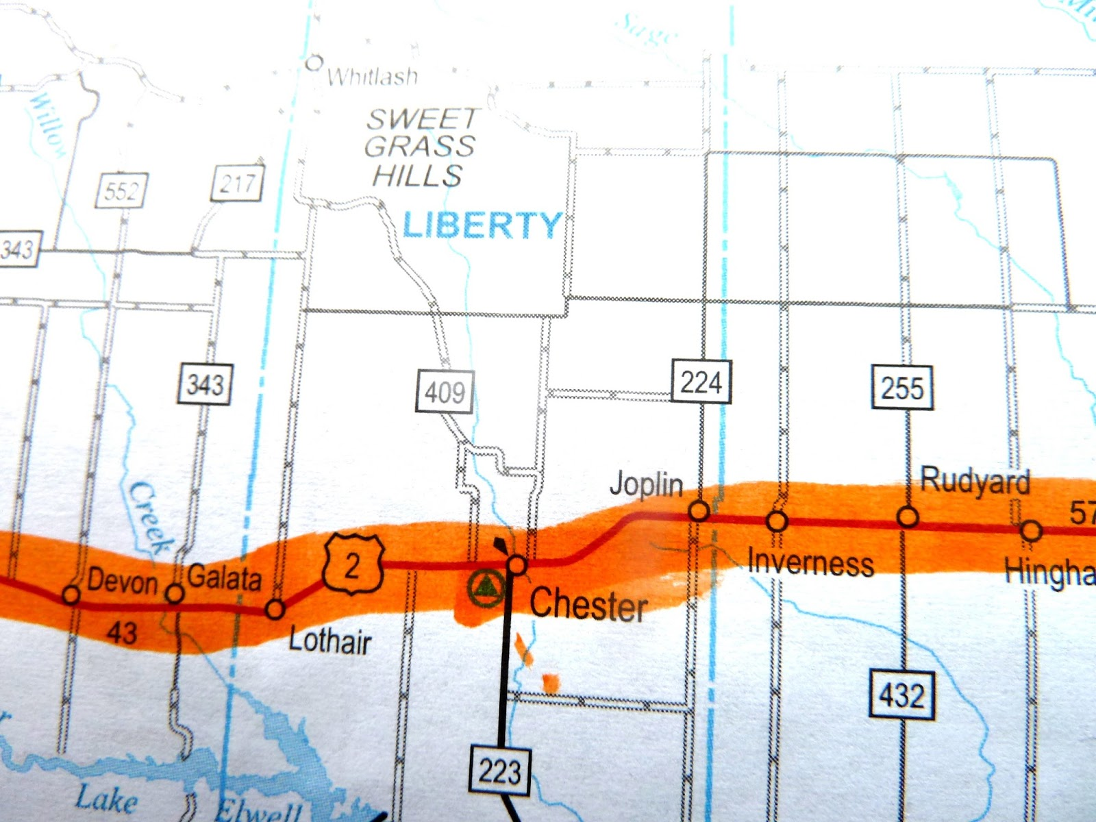 Seniors Walking Across America POST JULY ROUTE - Us route 2 map
