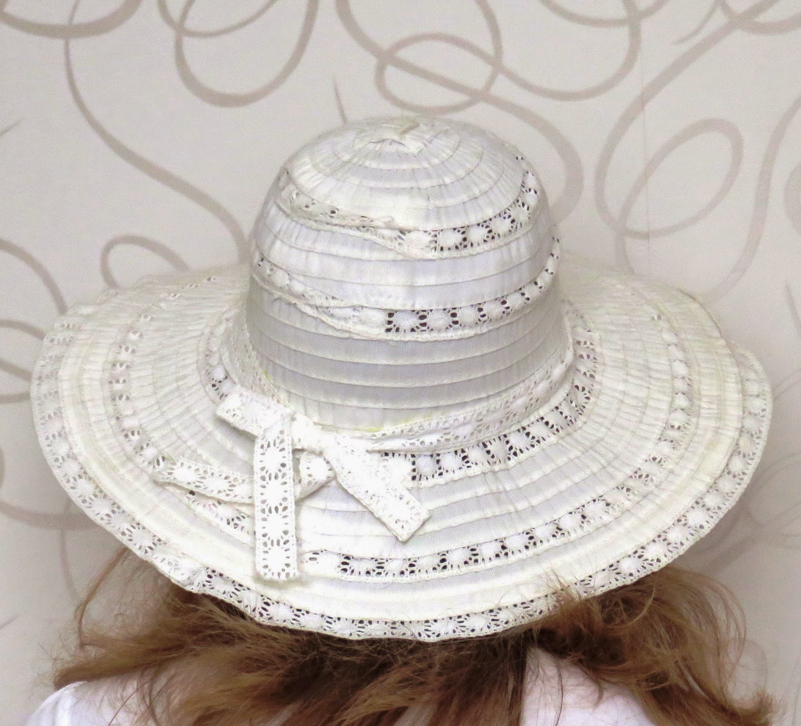witte zonnehoed white sunhat summer zomer kant lace