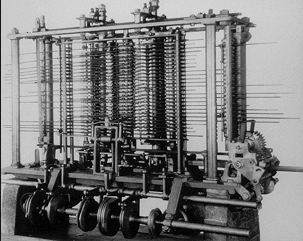 Who invented the modern computer and when?