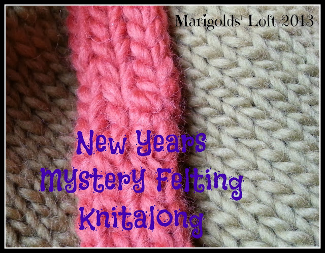 New Years Mystery Felting Knitalong