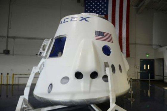 SpaceX transportará astronautas.