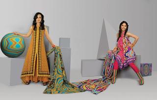 Warda Saleem Lawn Collection 2011