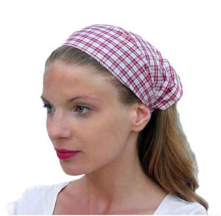 Set of 5 Soft Checkered Fun Colored Wide Headband #headbandset