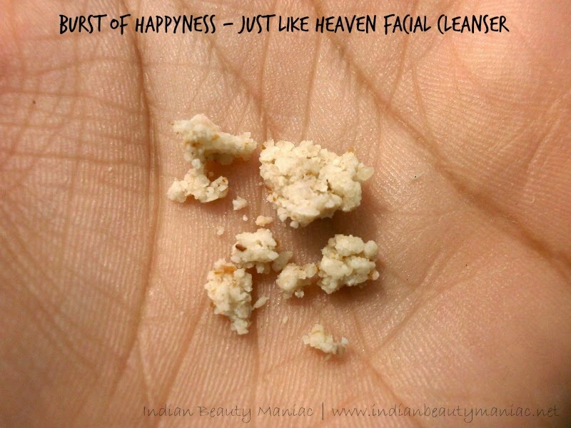 Burst of Happyness Just Like Heaven Hand made clay Facial Cleanser