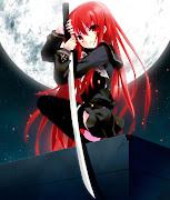 Anime Blog (anime girl with red hair)