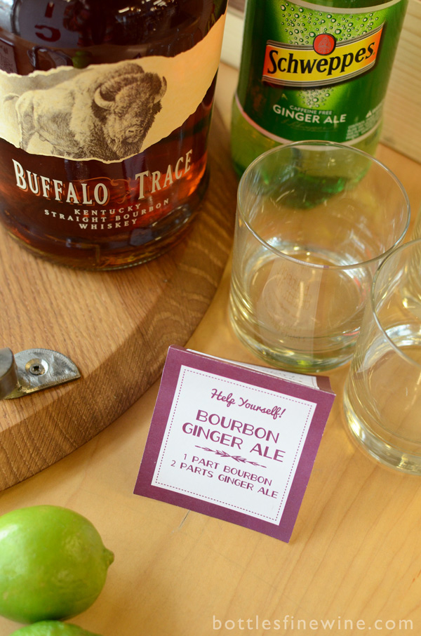 bourbon ginger ale cocktail idea recipe