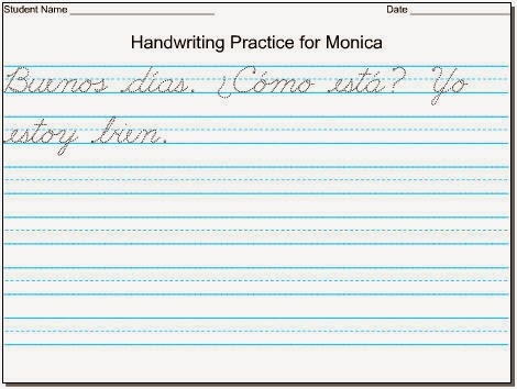 Cursive Handwriting Printables