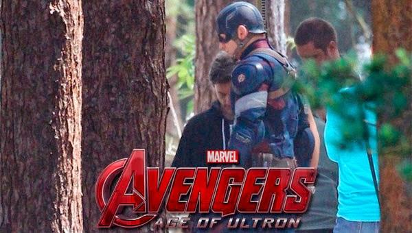 "Capitán América ""Los Vengadores: La Era de Ultron"""