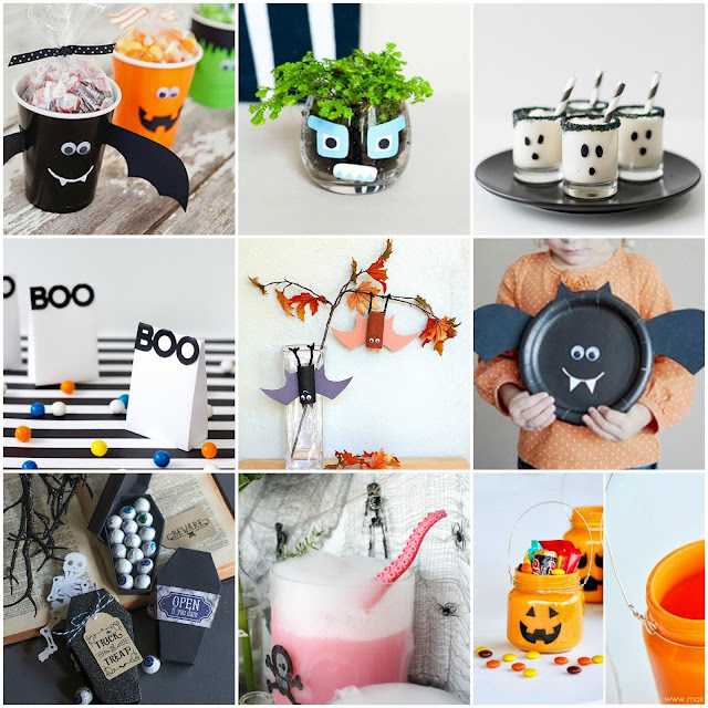 Diy Decoracion Halloween ~ Decoraci?n F?cil 9 Divertidos Halloween diy para ni?os