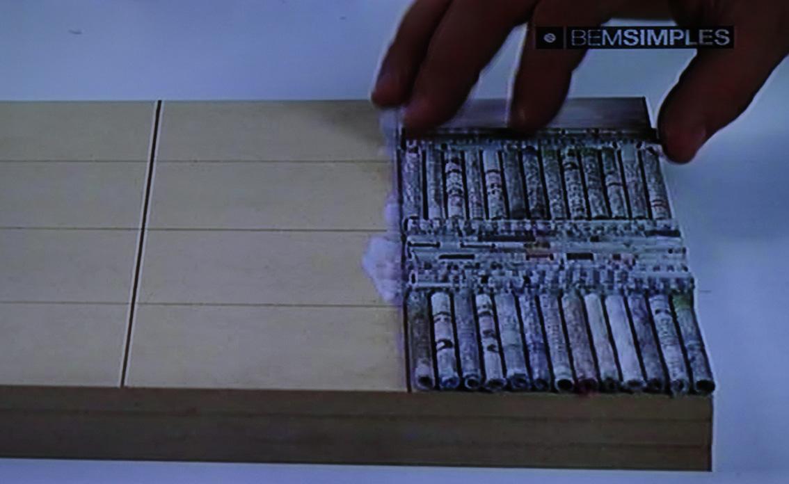 Artesanato Baiano ~ Artesanato, como fazer (passo a passo) forrando caixa de papel u00e3o com canudos de jornal