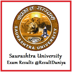 Saurashtra University External Results