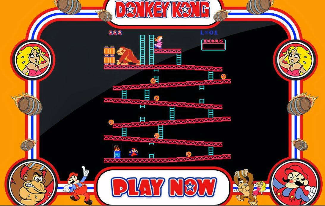 A GEEK DADDY Play DONKEY KONG for FREE on your Internet Browser