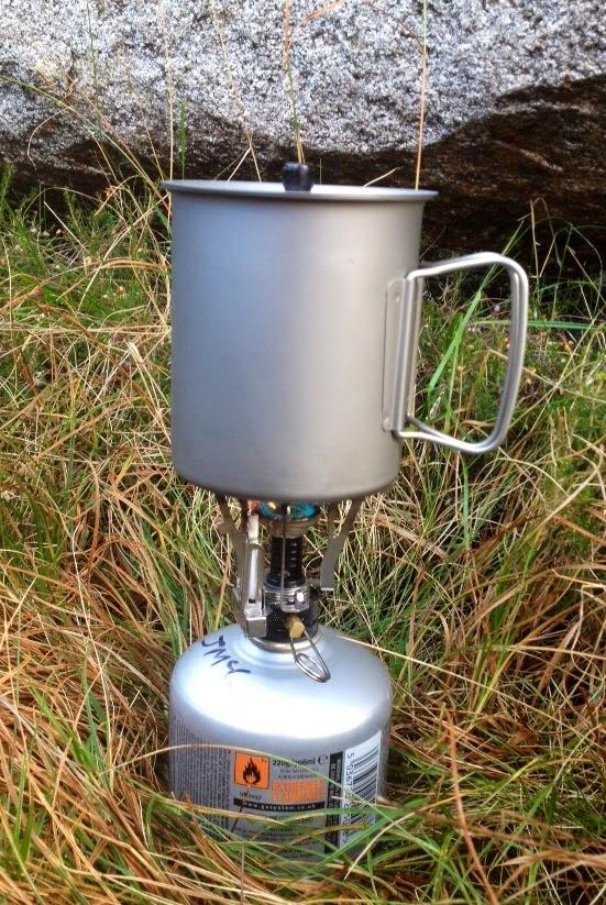 Vargo Ti Lite Titanium Cooking Mug for Camping
