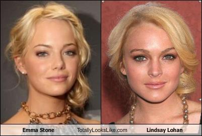 list of celebs: Celebrity Look Alike: LIndsay Lohan and ...