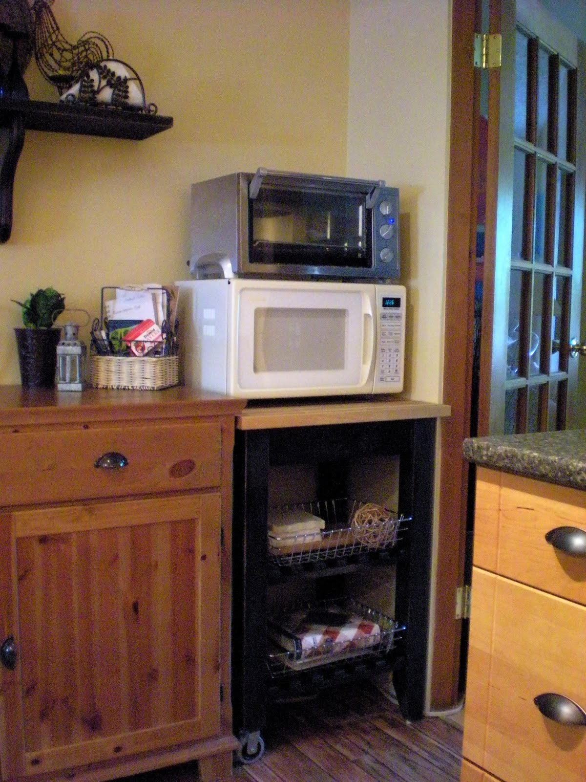 designdreams by anne ikea bekvam kitchen cart makeover