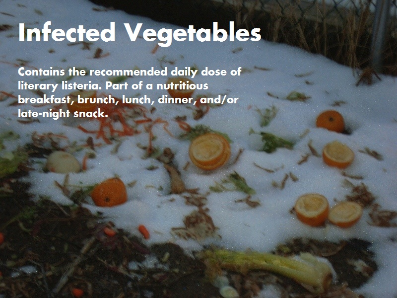 infected vegetables