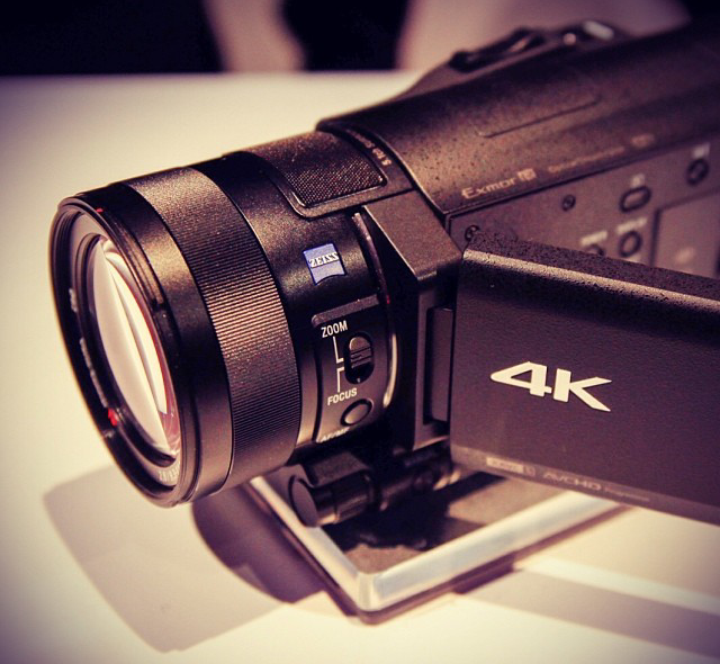 4k resolution camcorder
