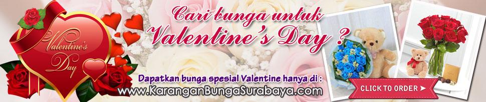 jual bunga valentine surabaya