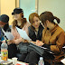 T-ara's Photos from their Meeting for their European Trip