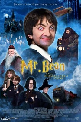 Face Mr. Bean Harry Poter