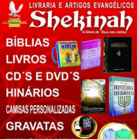 Livraria Shekinah em Salinas, visitem!