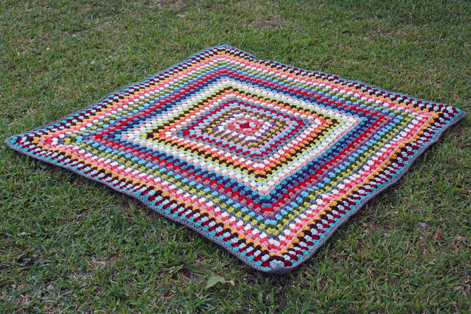 Knitting Granny Square Blanket : Little pear studio crochet and knitting
