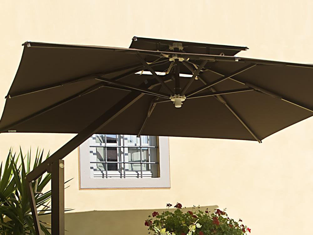 Degart ombrelloni arredo bar ristoranti pub for Arredamento esterno bar