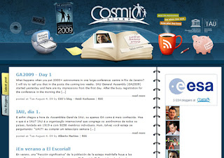Cosmic Diary