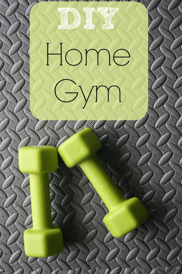 DIY Home Gym Makeover