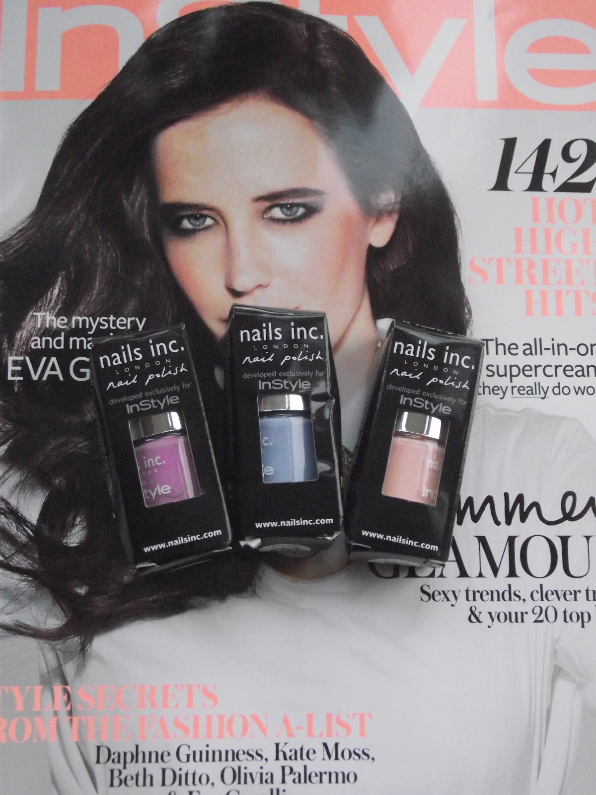 Nails magazine freebies