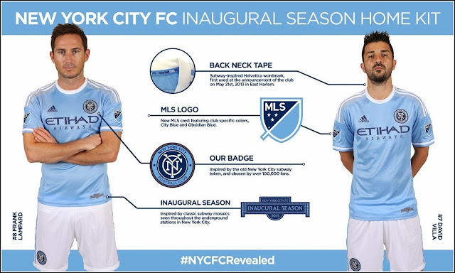 New York City FC Unveils First Home Jersey