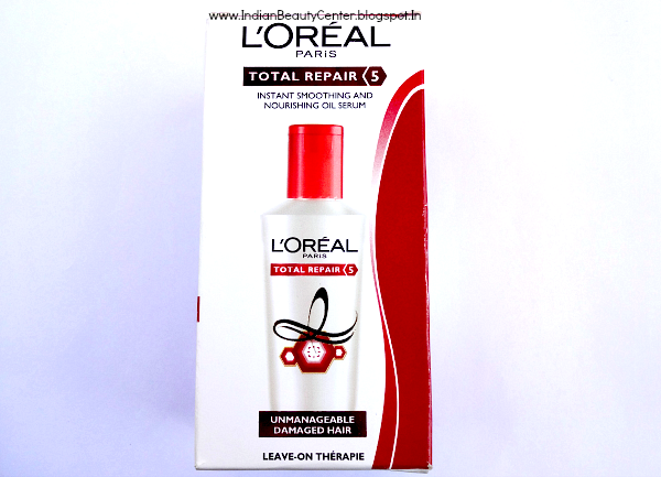 L'oreal Total Repair 5 Instant Smoothing and Nourishing Oil Serum Review