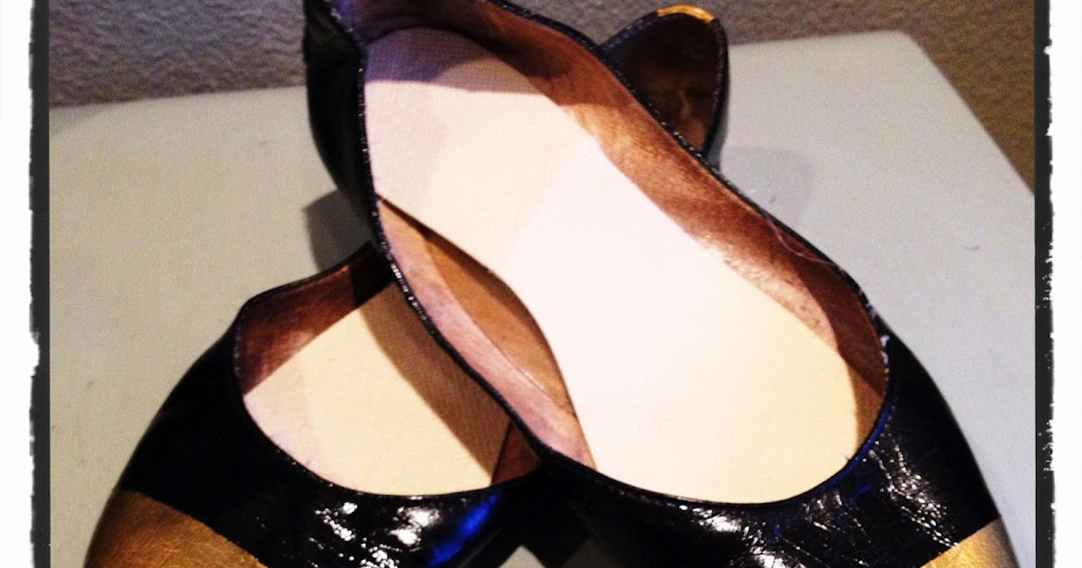 live très chic: diy cap-toe ballet flats inspired by ... Ballet